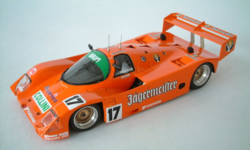 BRUN PORSCHE 962 C Collini Donington 1990 Verkauf in der Schweiz gem. Eidg. Alkoholgesetz verboten